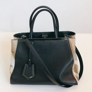 Fendi | 2Jours Large Calf Hair Bag